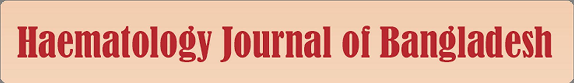 Haematology Journal of Bangladesh